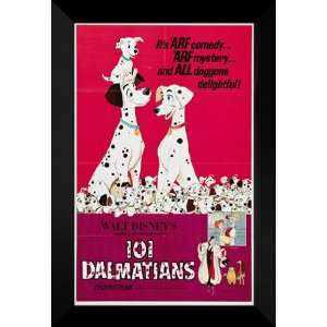 101 Dalmatians 27x40 FRAMED Movie Poster   Style E 1996