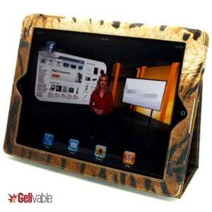Ipad2 Premium Leather (Tiger) Case Cover with Stand,sleep