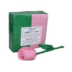 Napkin Rose Refill Pack   PINK