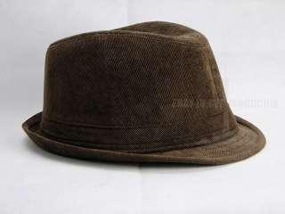 black blown yellow quality mens fedora hat fashion & classical cap 45