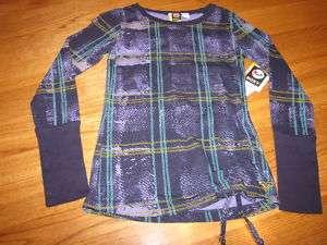 Roxy girls long sleev shirt XL Ready Set Go NWT 29.50^^