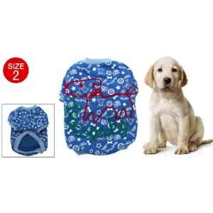 Como Lovely Soft Pile Casual Coat Clothes for Dog Size 2