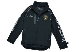 NEW LAMBORGHINI SUPER TROFEO WOMENS SOFT SHELL JACKET BLACK