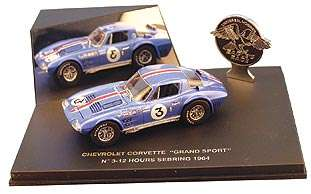 1964 CHEVROLET CORVETTE GRAND SPORT COUPE #3 DIECAST MODEL CAR