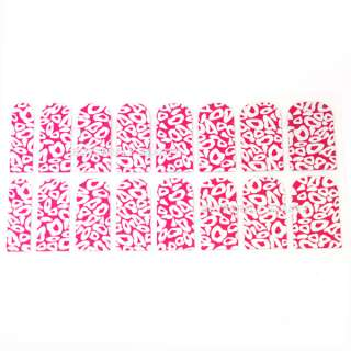 16pcs Nail Art White Star Sticker Foils Patch Manicure Decoration V078