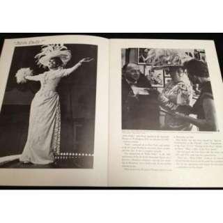 c1972 SIGNED PEARL BAILEY Vintage Concert Tour Program   Original