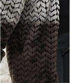 womens winter reversible hooded jacquard faux fur coat jacket
