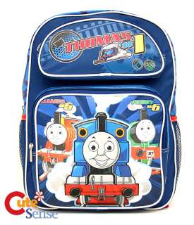 Thomas Tank Engine & Friends School Backpack 14 Medium Bag w/ Percy