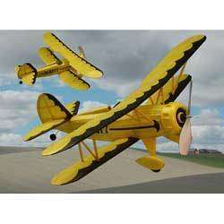 WACO YMF 5, #227 Dumas Balsa Wood Model Airplane Kit
