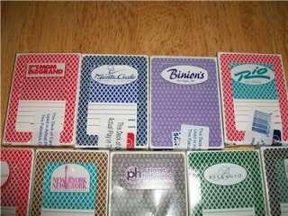14 DECKS LAS VEGAS CASINO CARDS LOT BELLAGIO PALMS LUXOR ++