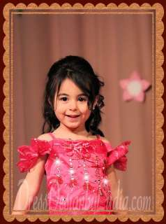 626Z Wedding Girl Pink Supreme Glitz Pageant Party Dress Baby Outfits