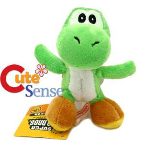 Super Mario Bros Green Yoshi 4 Plush Figure Key chain