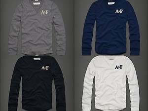 Abercrombie & Fitch A&F Mens Johns Brook Shirt long sleeve top NEW