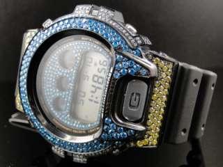SHOCK/G SHOCK MENS MULTI COLOR 6900 DIAMOND WATCH 5CT