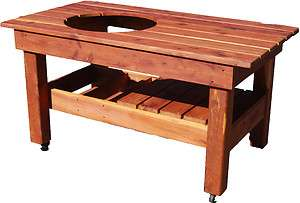 Big Green Egg table Large