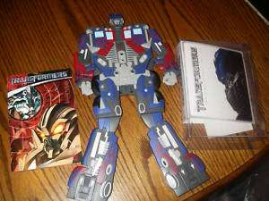 Transformers DVD with Transforming Optimus prime 2 Disk