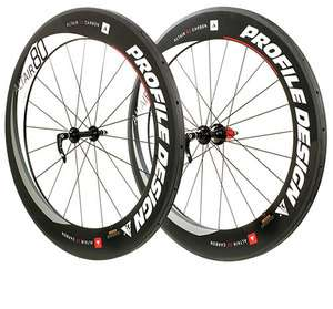 Profile Design Altair 80 Full Carbon Tubular Wheel Set