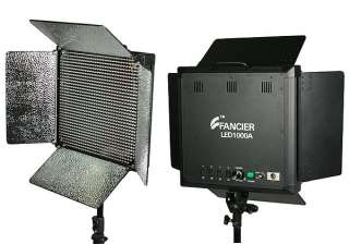 1000 LED Light Panel Video Light Panel With Dimmer Switch Able to Hook