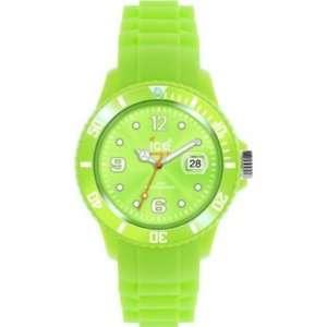 Ice Watch Unisex Armbanduhr Medium Big Sili Forever grün SS.AG.U.S.11