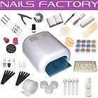 UV Gel XXXL Set, 4 Röhren Gerät, Nails, Nagelstudio W#