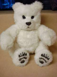 FurReal 2004 Tiger Electronics White Baby Bear Coos