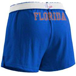 Florida Gators Womens Royal Blue Authentic Soffe Shorts
