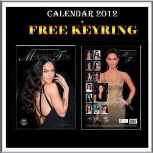 Megan Fox Kalender 2012 + Kostenlose Megan Fox Schlüsselring