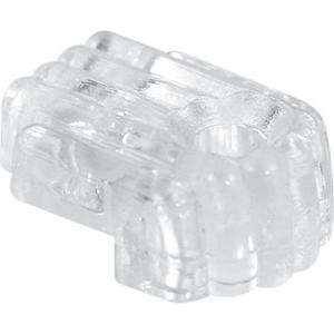 Prime Line Standard 1/8 in. Glass Mirror Clip with Screw and Anchor U