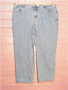 GLORIA VANDERBILT Amanda Blue Denim Stretch Jeans, 20W