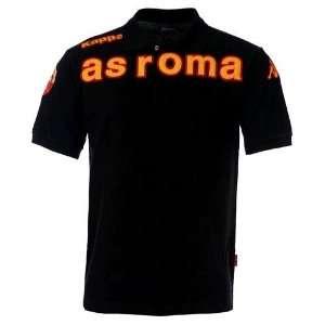 Kappa AS Rom Polo Shirt POLO EROI AS ROMA schwarz  Sport