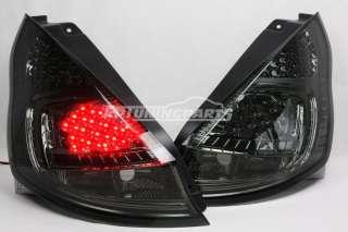 LED Rückleuchten Set Schwarz Smoke Ford Fiesta MK7 JA8 08+ NEU
