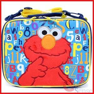 Sesame Street Elmo School Lunch Bag Kids Insulated Box