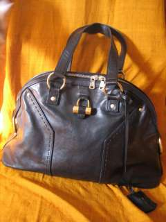 Yves Saint Laurent YSL MUSE in black large size $1550 TPF