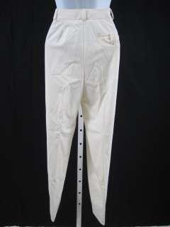 are bidding on ELLEN TRACY Cream Dress Pants Slacks Size Two Petite