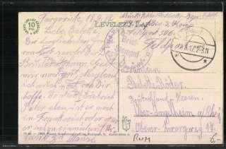 alte AK Arad, Maros reszlet 1917