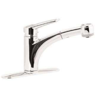 hansgrohe 31060001 chrome metris s single hole bathroom hansgrohe metro e high arc kitchen faucet 2 function pull