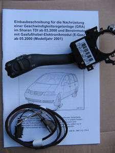 VW Sharan Ford Galaxy Seat Alhambra original Tempomat GRA TDI V6