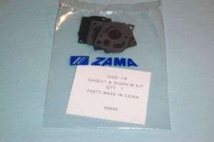 GENUINE ZAMA CARBURETOR DIAPHRAGM KIT GND 18 TOP SELLER