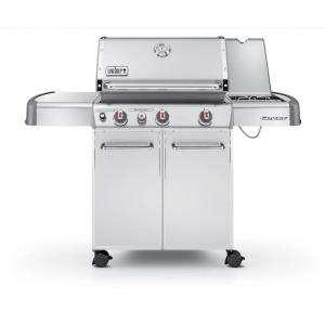 Weber Genesis S 330 3 Burner Propane Gas Grill in Stainless Steel