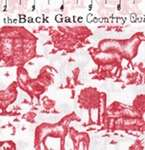 AVALYN Spring on the Farm RED toile pig hen cow fabric