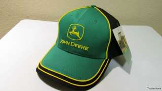 NWT New Licensed JOHN DEERE Tractor Deer LOGO Embroidered Hat Cap NICE