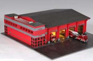 American Diorama 1/64 4 Bay Fire Station For Code 3 & Other Fire