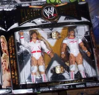 WWF WWE CLASSIC 2 PACK STRIKE FORCE SANTANA RICK MARTEL