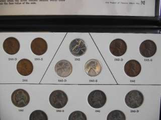 Wartime CoinageSet Silver War Time Nickels, Steel Cents + Copper