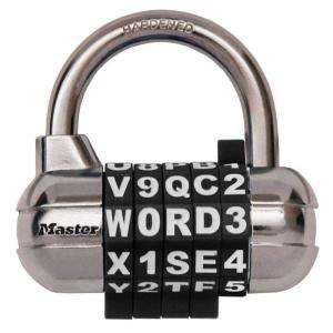 Master Lock Password Plus Set Your Own Combination Padlock 1534DHCHD