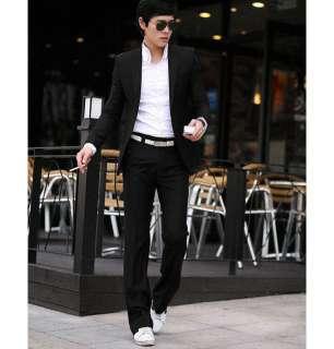 Fashion Stylish Slim Fit One Button Suit Blazer Coat 2 Colors MCH0637