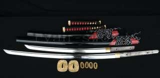 High Quality Japanese Samurai Sword Set (Katana+Wakizashi)