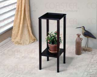 Coaster Cappuccino Finish Plant Stand Accent Table 900937