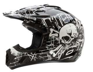 2012 ONeal 3 Series Damage Motorcycle Dirt Bike Helmet