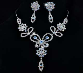 keyword wedding bridal rhinestone crystal evening lariat necklace